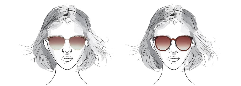 okulary dla twarzy trójkątnej
